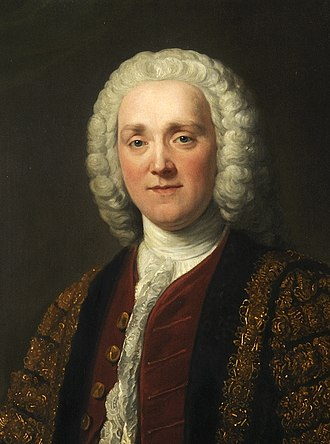 British general election, 1768 - Image: George Grenville (1712–1770) by William Hoare (1707 1792) Cropped