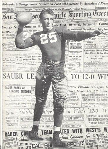 Sauer from 1934 Cornhusker