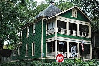 Candler Park - Image: Georgia 20131016 106 Candler Park Historic District