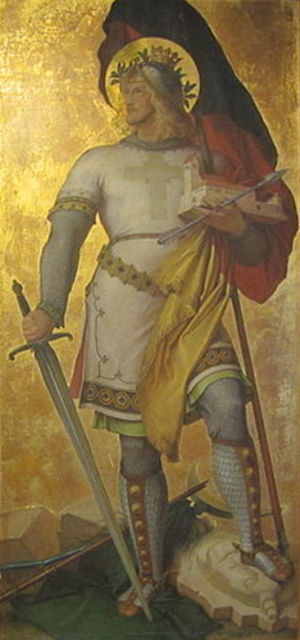 Gerold, Prefect of Bavaria - Gerold the Younger by Karl Baumeister.