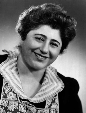 Gertrude Berg - As Molly Goldberg in 1951.