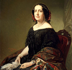Gertrudis Gómez de Avellaneda - Gertrudis in her later years