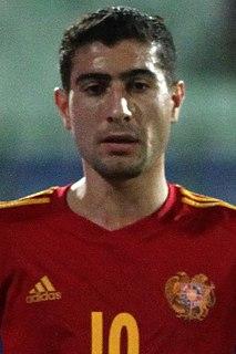 Gevorg Ghazaryan Armenian footballer