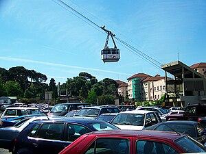 Gibraltar Cable Car - Image: Gibraltar Cable Car 5