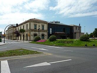 Gijón Railway Museum - Image: Gijón old FEVE station