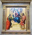 Giuliano di piero di simone bugiardini, madonna in trono e santi, 1523.JPG