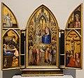 Giusto de' menabuoi, trittico con l'incoronazione della vergine e altre scene, 1367, 01.jpg