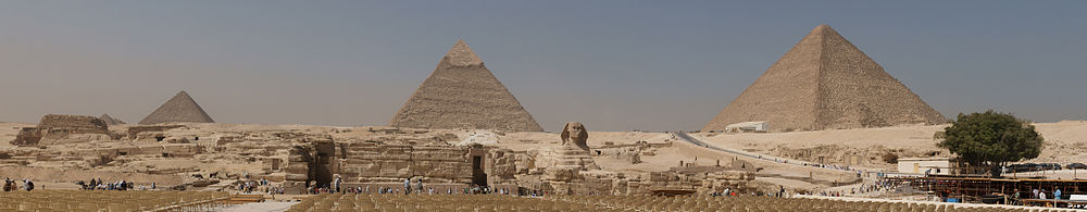 Panorama of Giza Complex