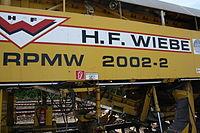 Gleisbauzug von Plasser & Theurer nahe Bahnhof Osterholz-Scharmbeck 02.JPG