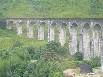 Harry Potter fandom - The Glenfinnan viaduct, which the Hogwarts Express passes over when it travels to Hogwarts in the films.