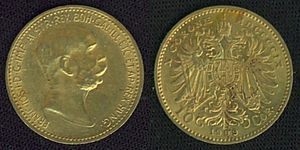 Gold.10CrownAustria.1909