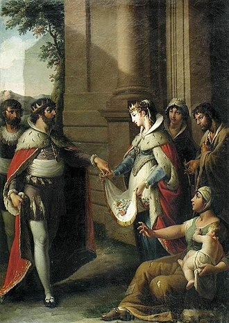 Zacarías González Velázquez - Image: González Velázquez, Zacarías The miracle of Saint Casilda c. 1820