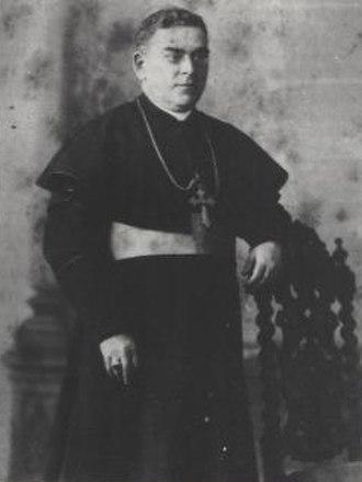 Gonzalo Canilla - Gonzalo Canilla as Vicar Apostolic of Gibraltar