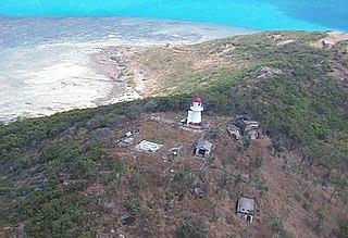Goods Island Light lighthouse in Queensland, Australia