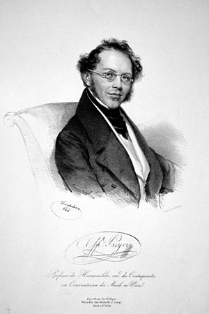 Gottfried von Preyer - Gottfried Preyer, 1840.