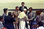 Governor Robert Martinez greeting Pope John Paul II.jpg
