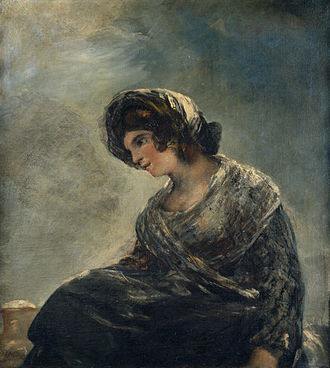 La Leocadia - Image: Goya Milk Maid