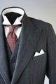 Grå kostym från 1937 - Livrustkammaren - 94021.tif