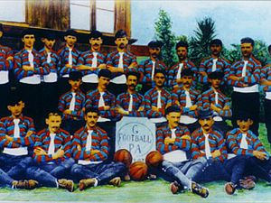 "Grêmio Foot-Ball Porto Alegrense - ""Grêmio Foot-Ball Porto Alegrense"", team photo of 1903"