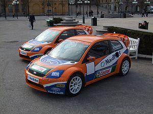 The 2008 Ford Fiesta ST ERC (4WD, 560bhp, 800N...