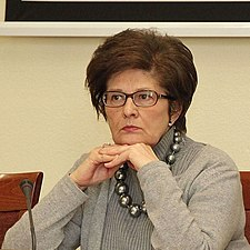 Grażyna Bernatowicz, Undersecretary of state in the Ministry for Foreign Affairs 2013 (cropped).JPG