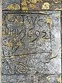 Graffiti, St Nicolas' church, Newbury - geograph.org.uk - 830874.jpg