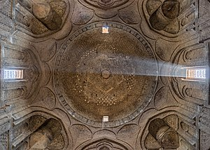 History of Persian domes - The Jameh Mosque in Isfahan, Iran.