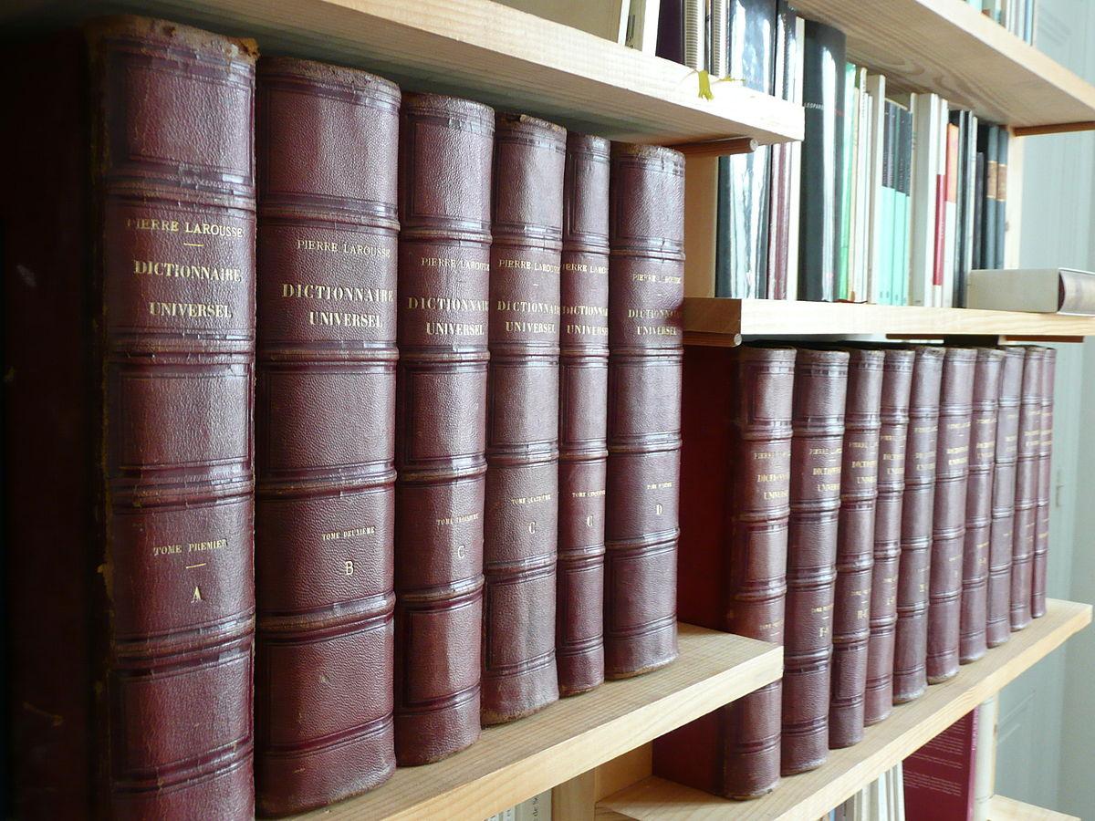 Grand dictionnaire universel du xixe si cle wikip dia - Dictionnaire de cuisine larousse ...