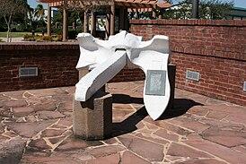 Один из якорей с «Гранкана» в Мемориальном Парке памяти жертв взрыва