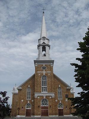 Grande-Rivière, Quebec - Église Notre-Dame-de-l'Assomption