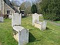 Grave Stones at All Saints Church - geograph.org.uk - 1214810.jpg