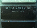 Grave of swedish professor bengt ankarloo lund sweden.jpg