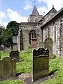 Graveyard, St. Michael and All Angels, Newburn.jpg
