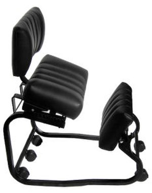 Kneeling chair - A kneeling chair