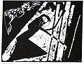 Gretchen im Kerker (Faust I), Margret Hofheinz-Döring, Linolschnitt, 1964.jpg