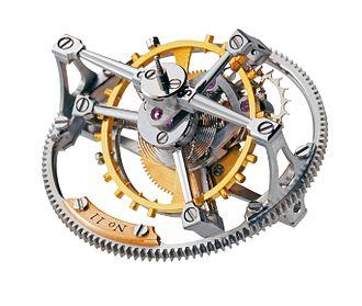 Tourbillon - Greubel Forsey Double Tourbillon 30° mechanism.