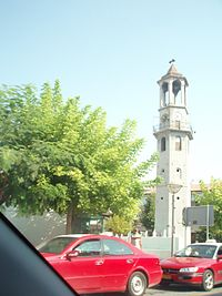 Grevena (city), Grevena municipality, Grevena prefecture, Greece - Clocktower - 01.jpg