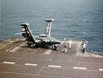 Grumman F9F-2 Panther of VMF-223 aboard USS Franklin D. Roosevelt (CVB-42), circa 1950 (80-G-K-12443).jpg