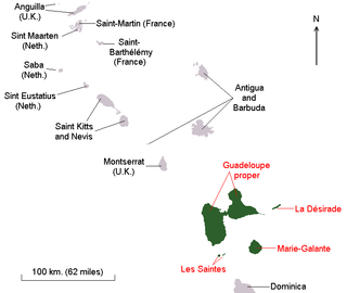 Geography of Guadeloupe