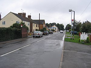 Newborough, Cambridgeshire - Gunton's Road, Newborough, Peterborough by Rodney Burton
