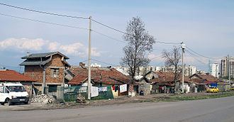 Romani people in Bulgaria - The Romani ghetto in Filipovtsi, Sofia