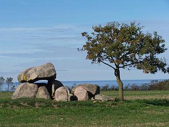 Megaliths in Mecklenburg-Vorpommern - Dolmen near Rerik