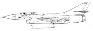 Operational Requirement F.155 -  Hawker P.1103 company schematic drawing