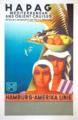 HAPAG-Plakat Mediterranean and Orient Cruises von Otto Arpke 1931 Sammlung Marc Wegner Berlin.png