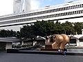 HK 中環 Central 怡和大廈 Jardine House view 康樂廣場 Connaught Place GPO General Post Office building 花園 Garden 亨利摩爾 Henry Moore 對環 Double Oval sculpture Saturday Morning December 2019 SS3.jpg