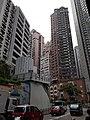 HK Central-Midlevels SOHO escalators view Robinson Road November 2020 SS2 09.jpg