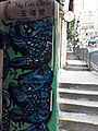 HK SYP 西環 Sai Ying Pun 東邊街 Eastern Street graffiti Ng Fuk Lane fish in art March 2020 SS2.jpg