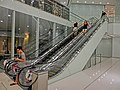 HK TST 港威大廈 The Gateway entrance lobby interior night Sept-2013 Escalators visitors.JPG