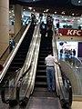 HK TSW 天水圍 Tin Shui Wai 天恩路 Tin Yan Road 嘉湖銀座 Kingswood Ginza mall interior escalators KFC n visitors Dec 2016 Lnv2.jpg