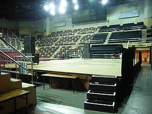Queen Elizabeth Stadium - The arena in the Queen Elizabeth Stadium, Wanchai, HK